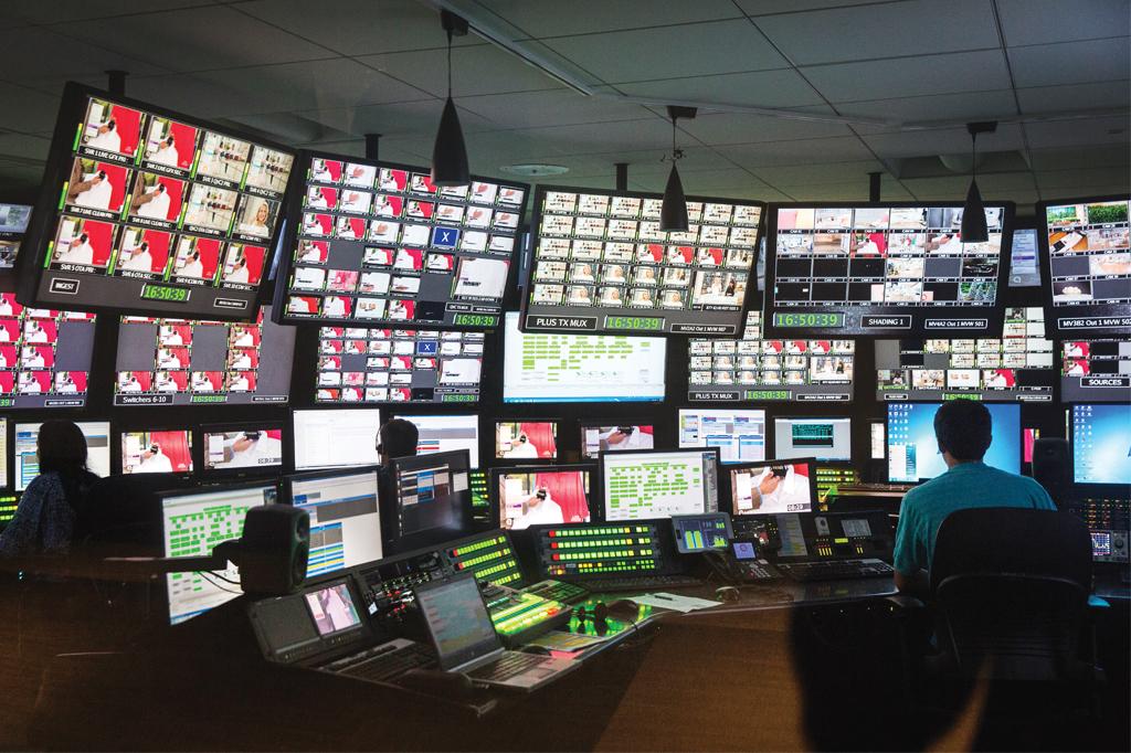 QVC Control Room