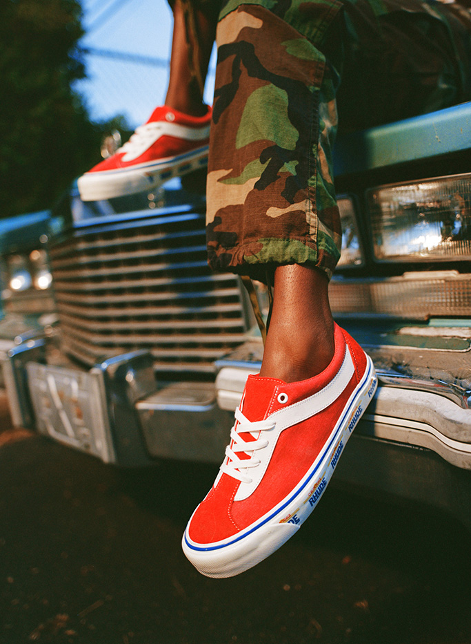 Rhude x Vans, bold ni shoes