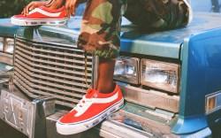 Rhude x Vans, bold ni shoes