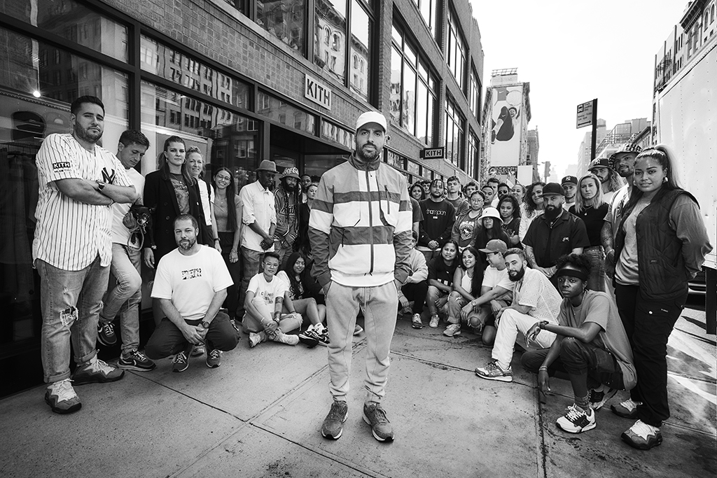 Ronnie Fieg, Kith owner, kith store lafayette street