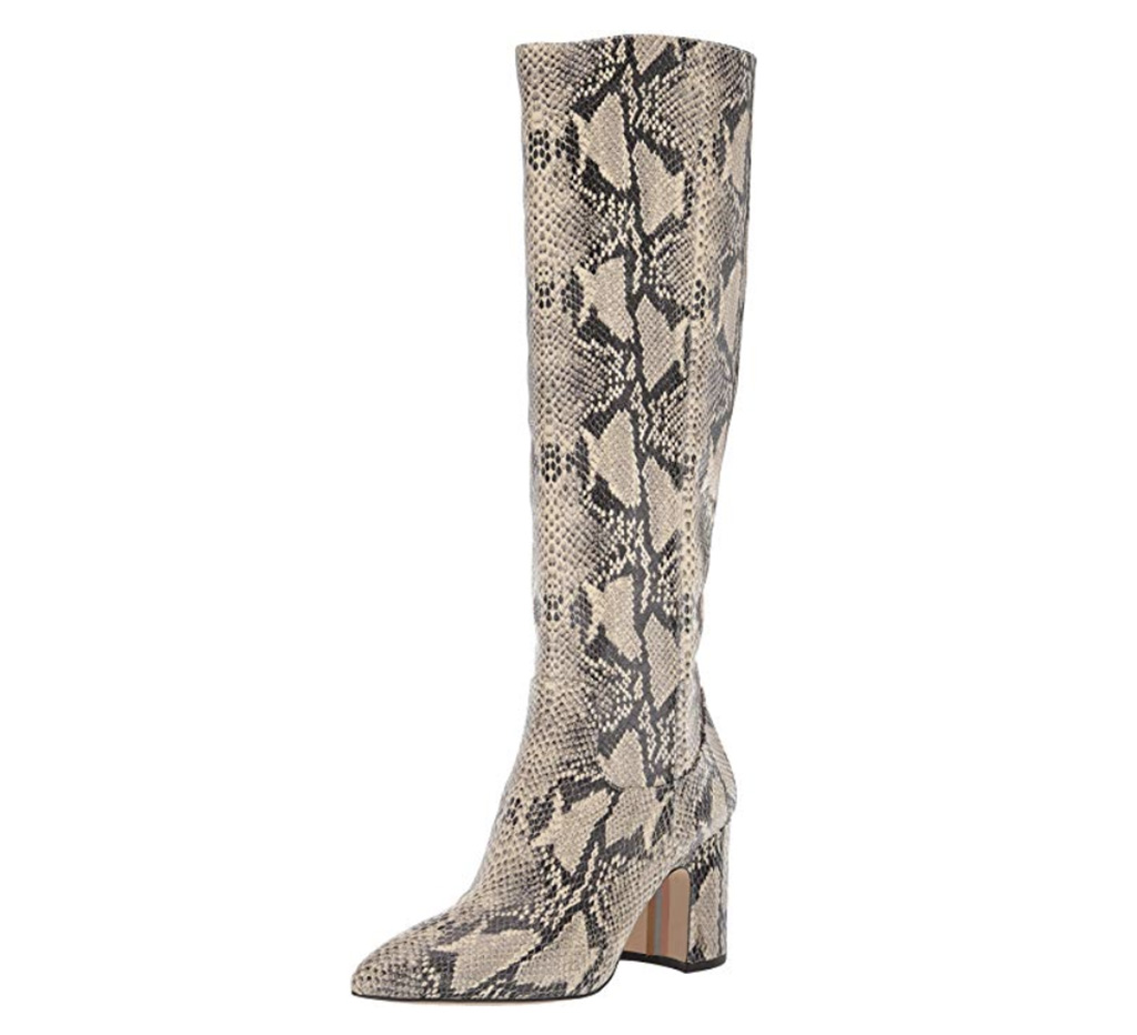 Sam Edelman Hai Boot, Snakeskin boot, natural boot