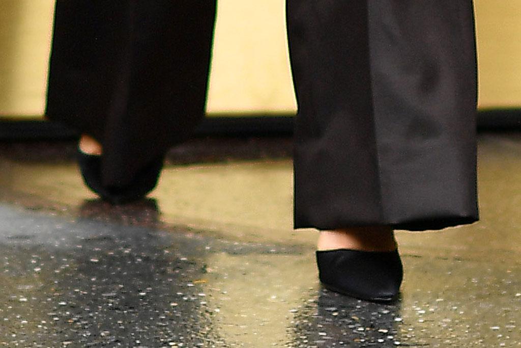 selena gomez, shoe detail, prada, purple jacket, coat, black pants, classic black pumps, stilettos, celebrity style, nyc, street style, Singer Selena Gomez wears a purple blazer leaving Z100 in New York City.Pictured: Selena GomezRef: SPL5125110 291019 NON-EXCLUSIVEPicture by: Robert O'Neil / SplashNews.comSplash News and PicturesLos Angeles: 310-821-2666New York: 212-619-2666London: +44 (0)20 7644 7656Berlin: +49 175 3764 166photodesk@splashnews.comWorld Rights