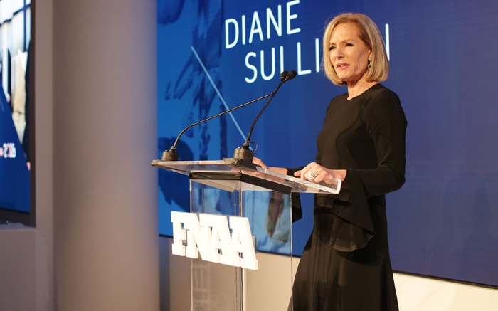 Diane Sullivan 32nd Annual Footwear News Achievement Awards, Presentation, New York, USA - 04 Dec 2018