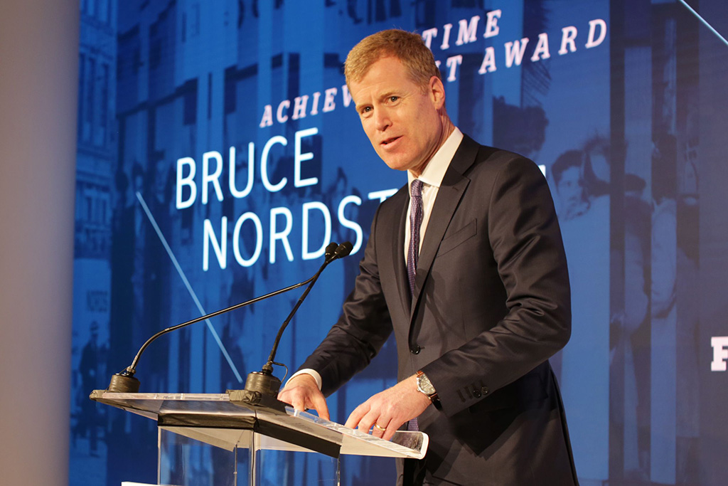 Erik Nordstrom 32nd Annual Footwear News Achievement Awards, Presentation, New York, USA - 04 Dec 2018