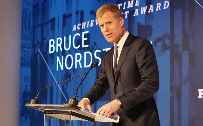Erik Nordstrom 32nd Annual Footwear News Achievement Awards, Presentation, New York, USA - 04 Dec 2018