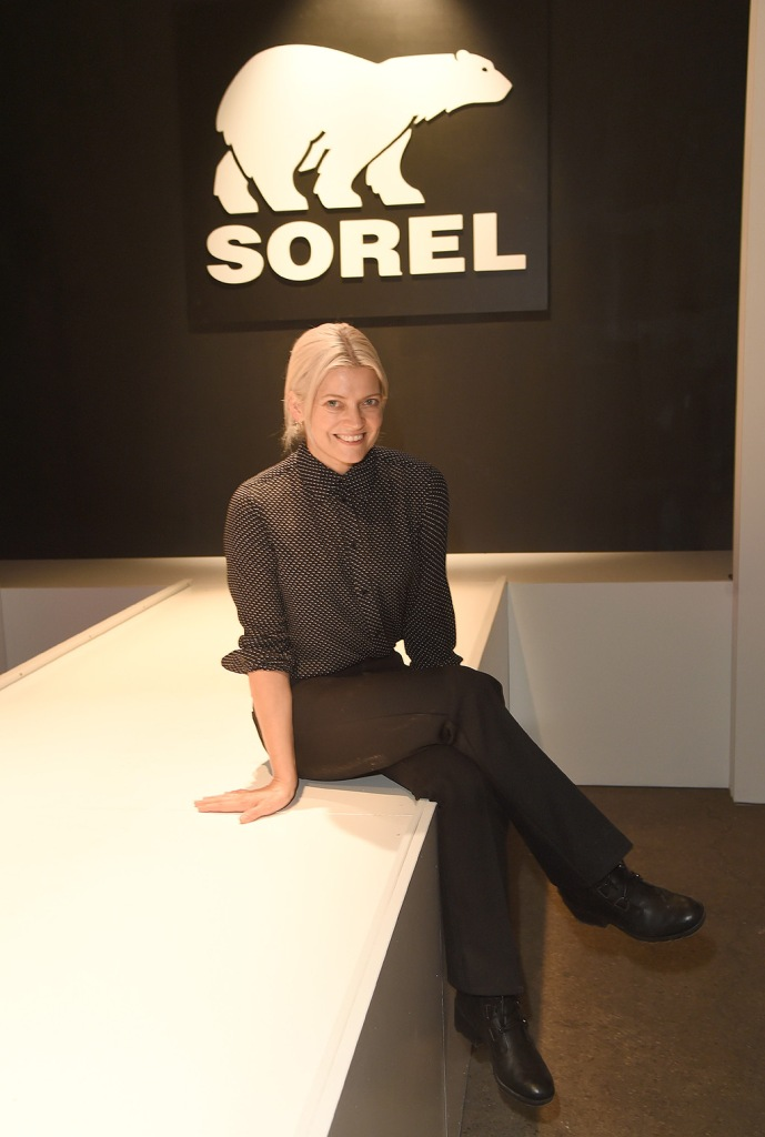 Kate Young sits front row at the SOREL Mile-Long Runway styled by Kate Young, showcasing SOREL Fall 19 Collection on 100 NYC women, held at Highline Stages, New York, NY @SORELfootwear #MILELONGRUNWAY #SORELstyleSOREL Mile-Long Runway, New York, USA - 02 Oct 2019