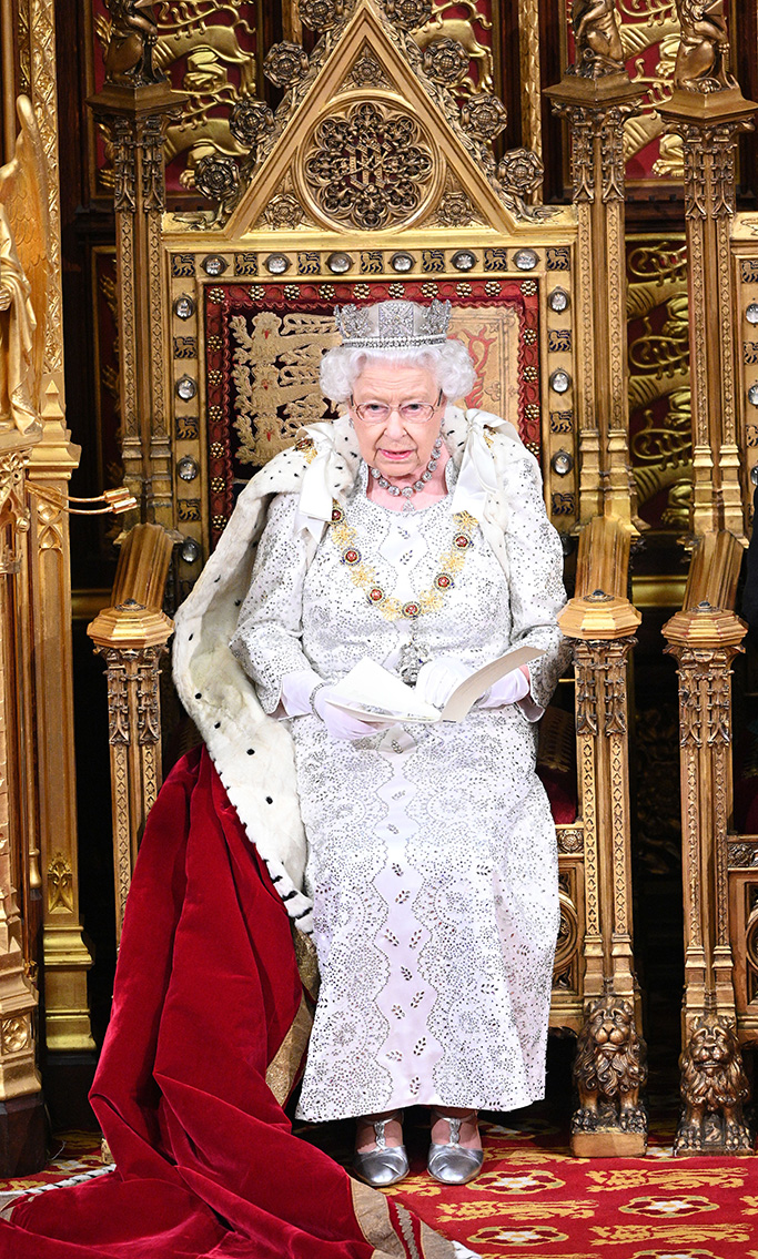 Queen Elizabeth II and Prince CharlesState Opening of Parliament, London, UK - 14 Oct 2019