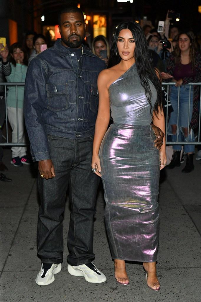 Kanye West and Kim Kardashian WestFashion Group International's Night of Stars Gala, Arrivals, Cipriani Wall Street, New York, USA - 24 Oct 2019