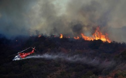A wildfire called the Getty Fire