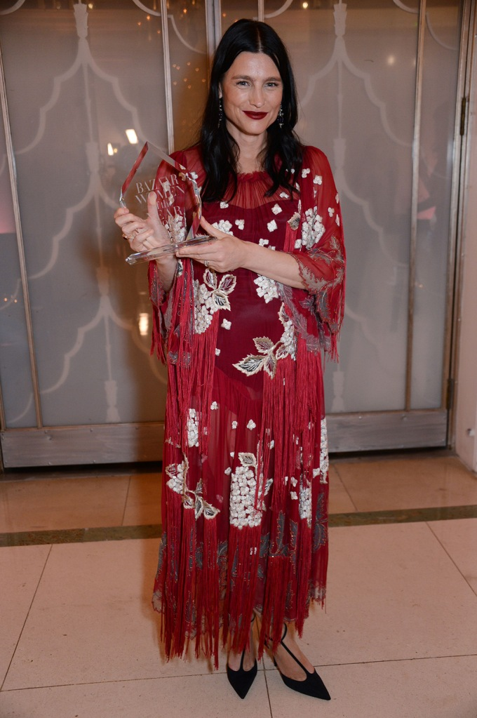 Tabitha Simmons winner of the Accessory Designer awardHarper's Bazaar Women of the Year Awards, Claridge's, London, UK - 29 Oct 2019