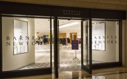 Barneys New York store inside the