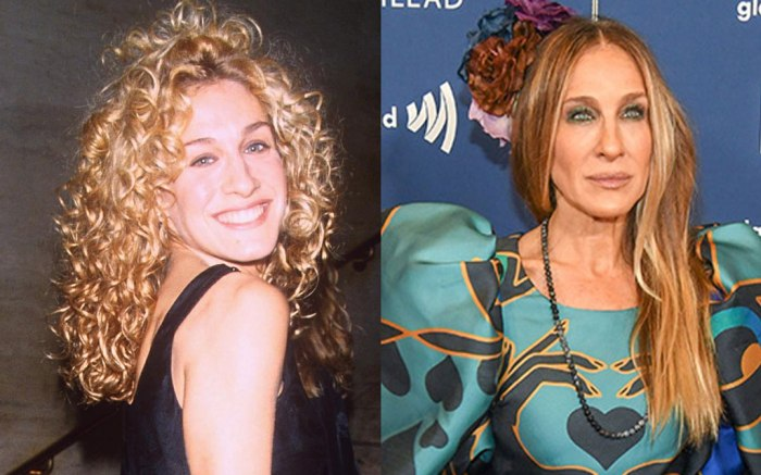 Sarah Jessica Parker, old, young, 1994, 2019