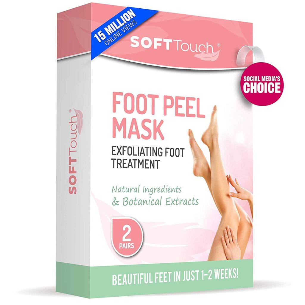 soft touch foot mask