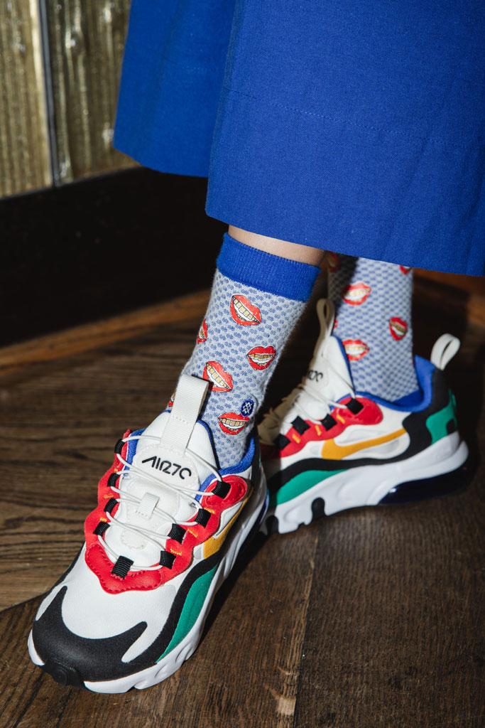 Stance, dear giana, socks, collaboration