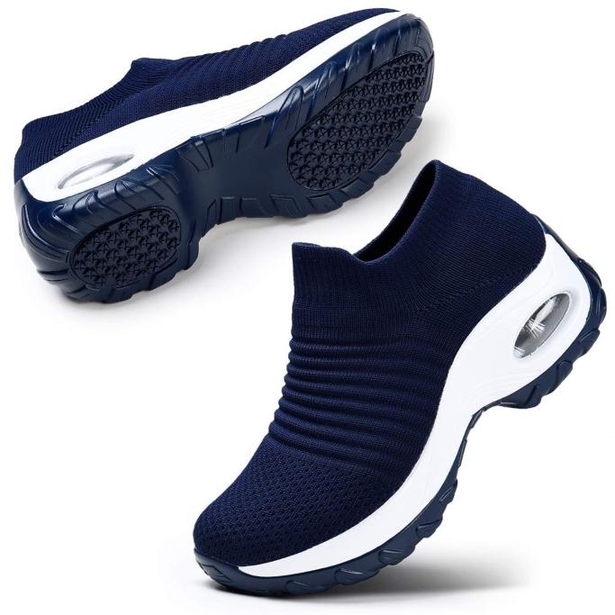 stq slip-on breathe mesh walking shoes
