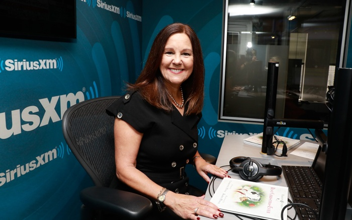 Karen Pence, siriusxm, patriot radio, black dress, marlon bundo book, best christmas