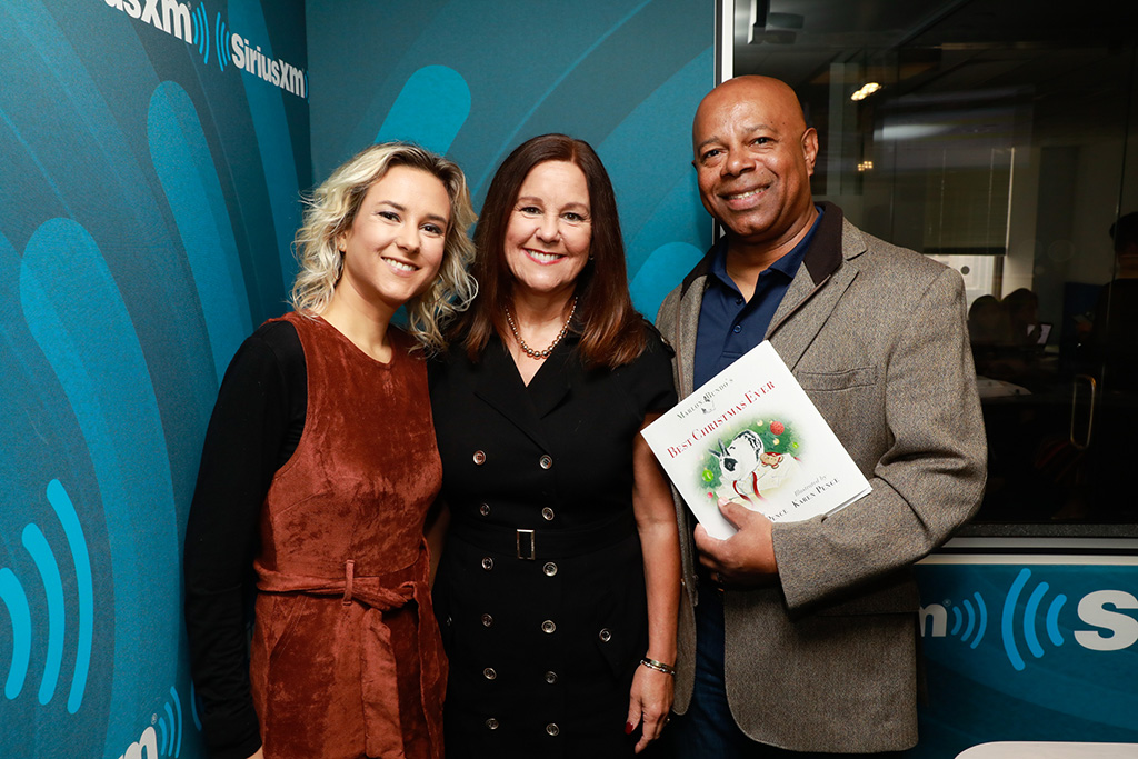 Karen Pence, siriusxm, patriot radio, black dress, marlon bundo book, best christmas, David Webb
