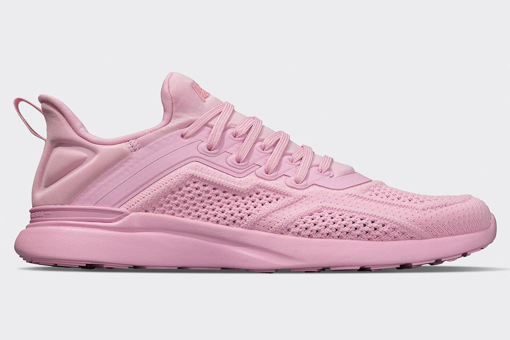 apl sneakers, bca sneakers, pink techloom sneakers