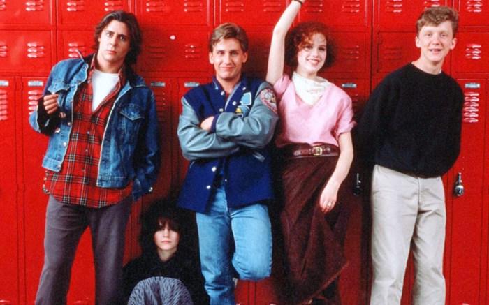 Judd Nelson, Ally Sheedy, Emilio Estevez, Molly Ringwald, Anthony Michael Hall, The Breakfast Club, 1980s fashion