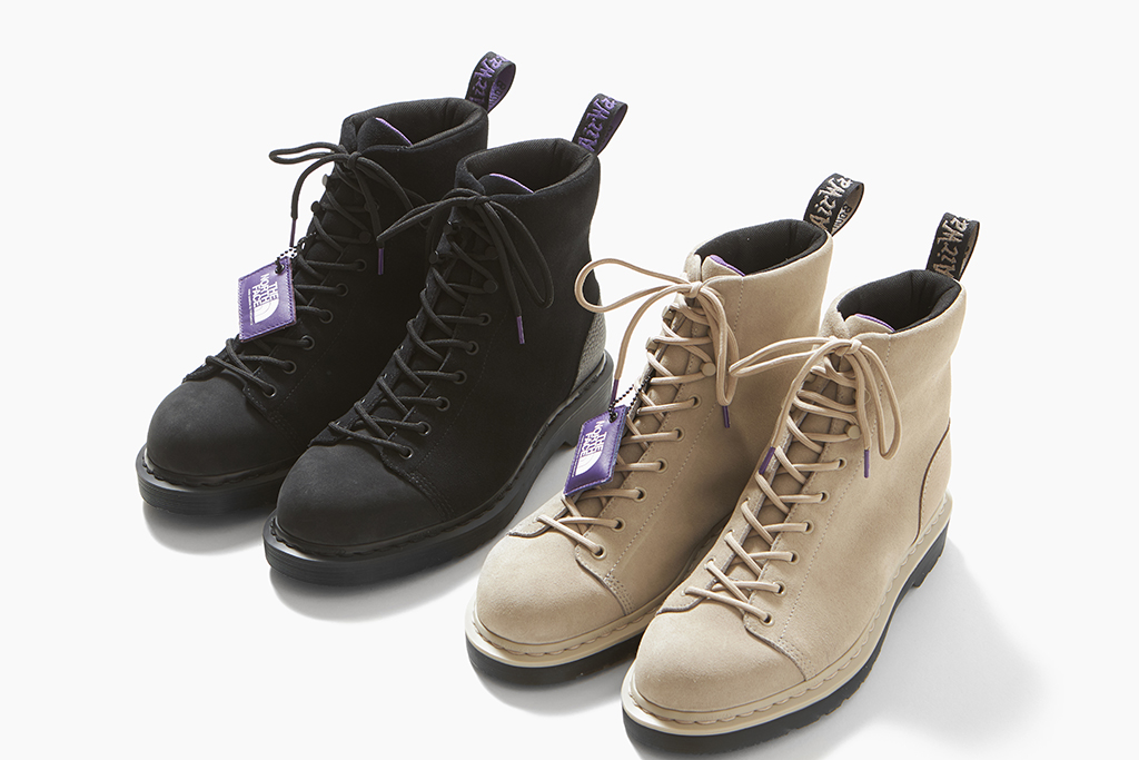 The North Face Purple Label by Nanamica x Dr. Martens 9 Tie Boot