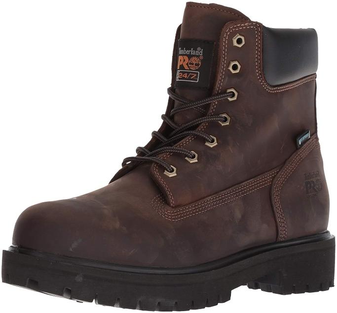 timberland pro 6 inch soft toe boot