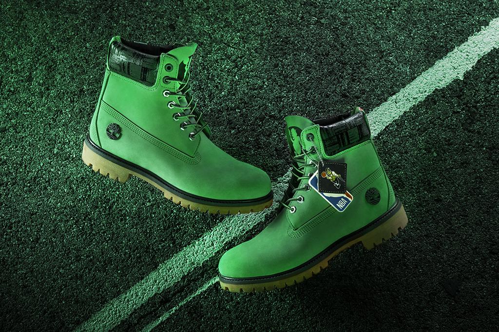 timberland, nba, boots, raptors, boston celtics