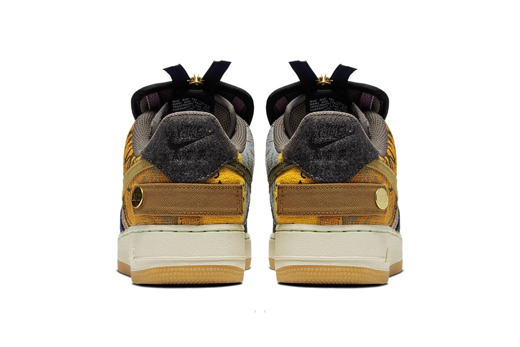 Nike Air Force 1 x Cactus Jack, travis scott sneakers