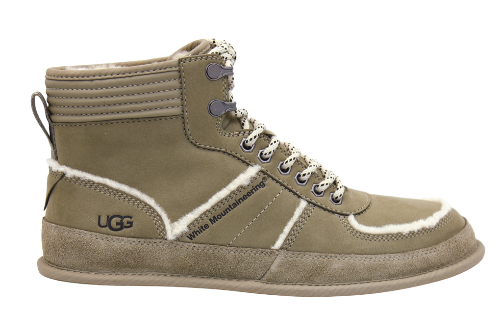 ugg, white mountaineering, ugg x white mountaineering, boot, dune
