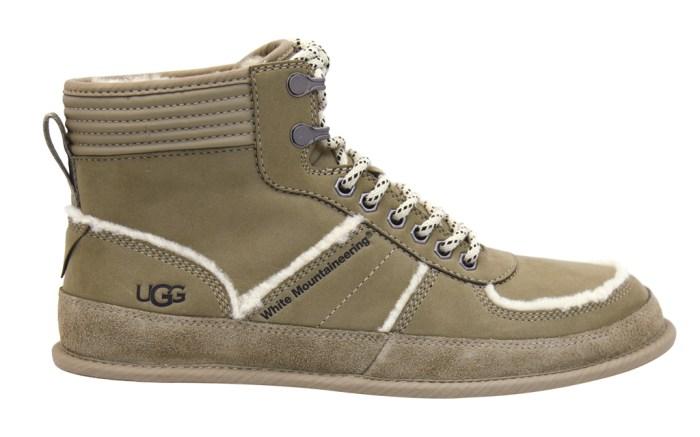 ugg, white mountaineering, ugg x white mountaineering, boot, dune