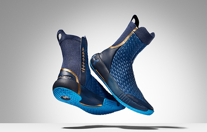Under Armour, Virgin Galactic, space boots, space suit