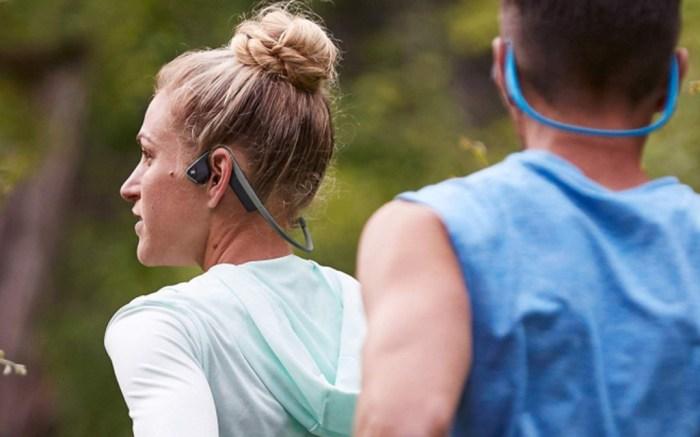 AfterShokz Titanium Open-Ear Wireless headphones