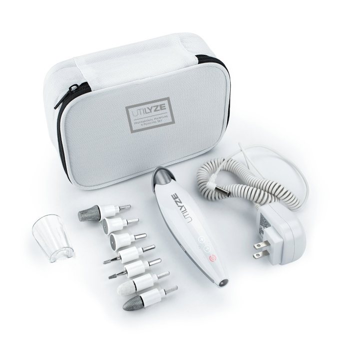 UTILYZE 10-in-1 Professional Electric Manicure & Pedicure Set