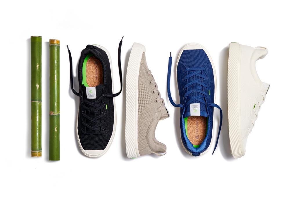 cariuma ibi bamboo shoes, sustainable, vegan