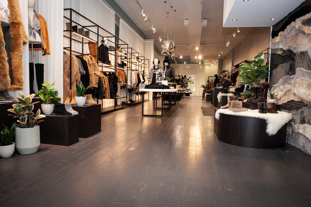 ugg, soho store, pop up shop, new york, nyc