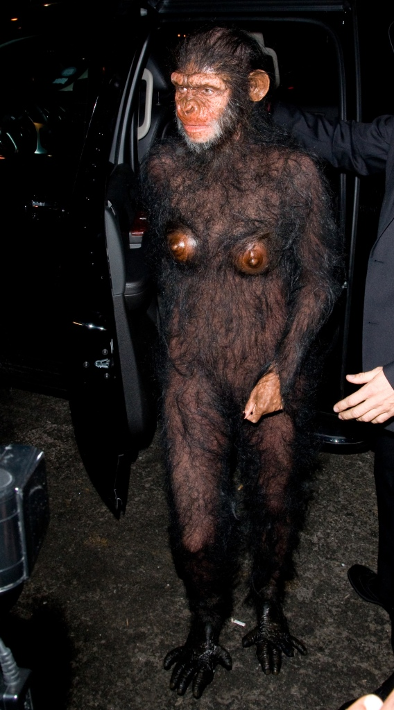 Heidi Klum, Seal, Heidi Klum's Halloween Party, Halloween, costumes, ape