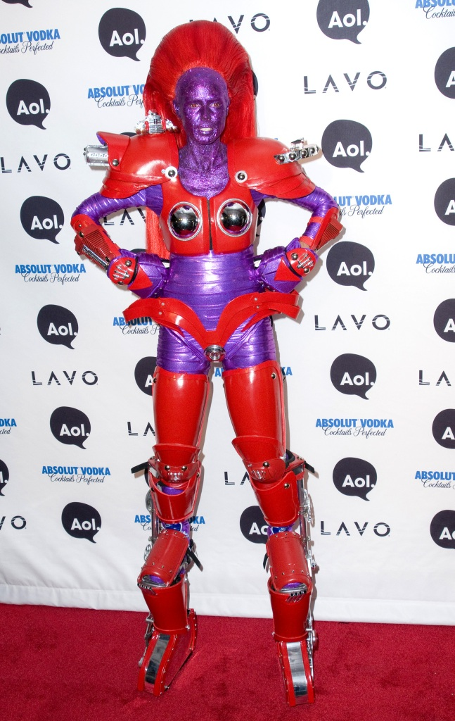 Heidi Klum, Heidi Klum's Halloween Party, Halloween, costumes, robot