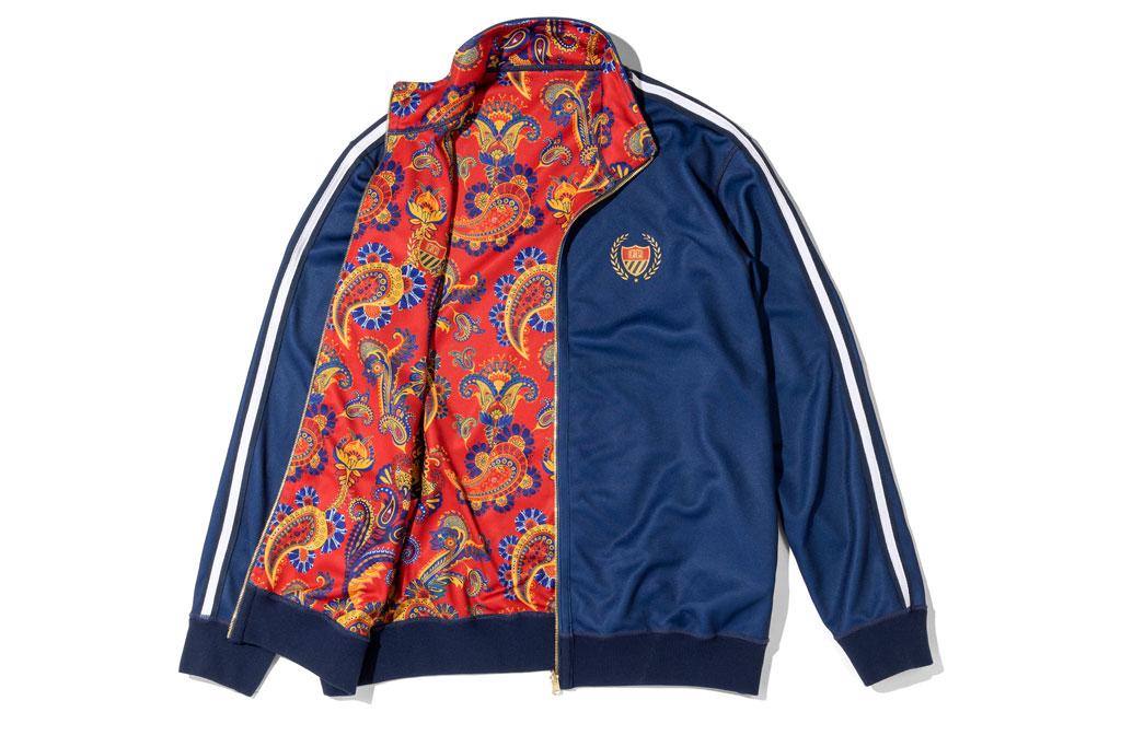 Will Smith, track jacket, paisley