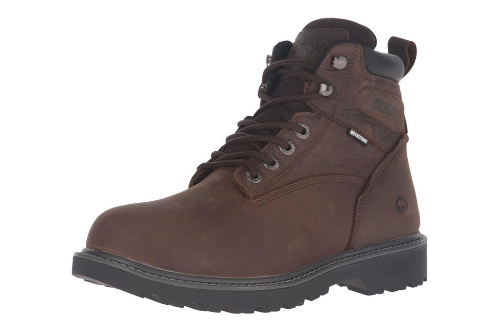 wolverine, work boots