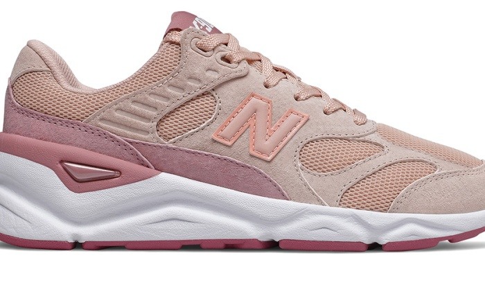 New Balance x Reformation X90, pink, womens, sneakers