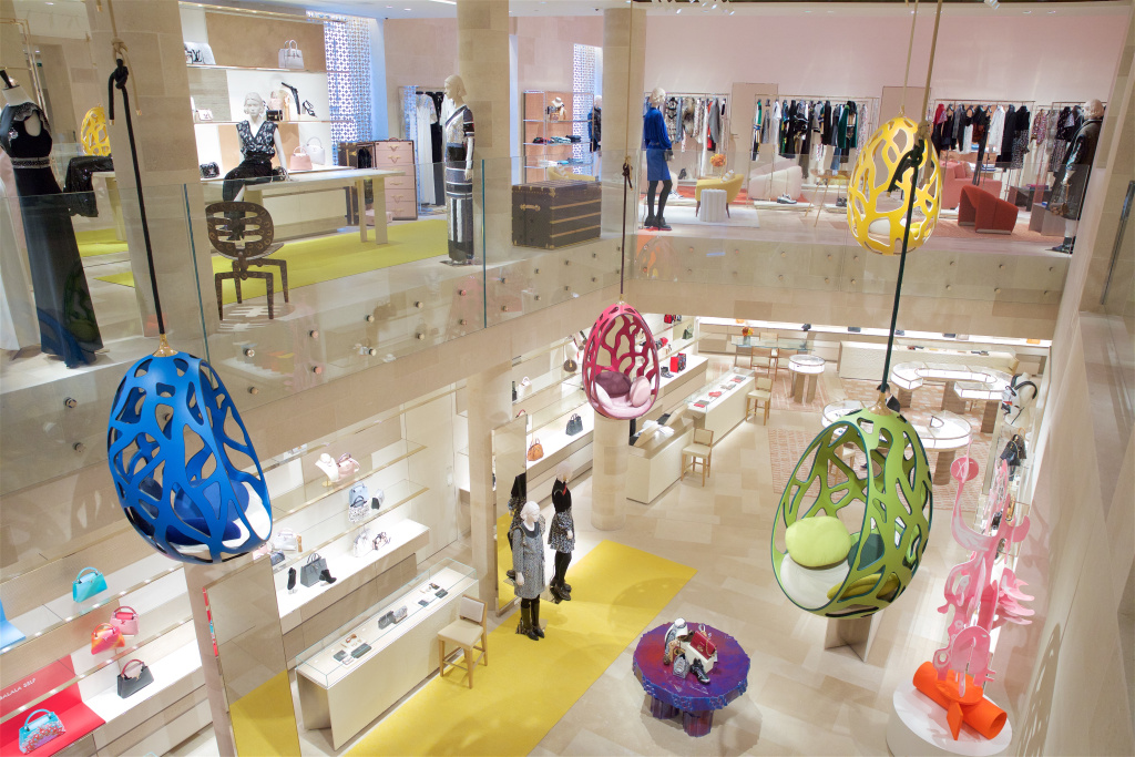 Inside the revamped Louis Vuitton store on New Bond Street