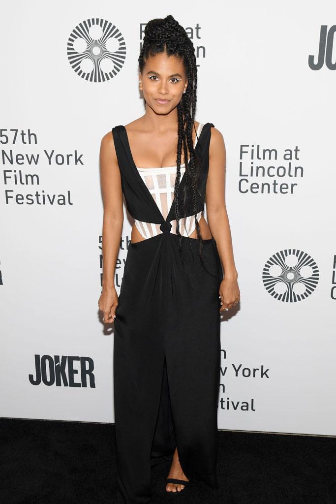Zazie Beetz, The Joker, Premiere, New York FIlm Festival
