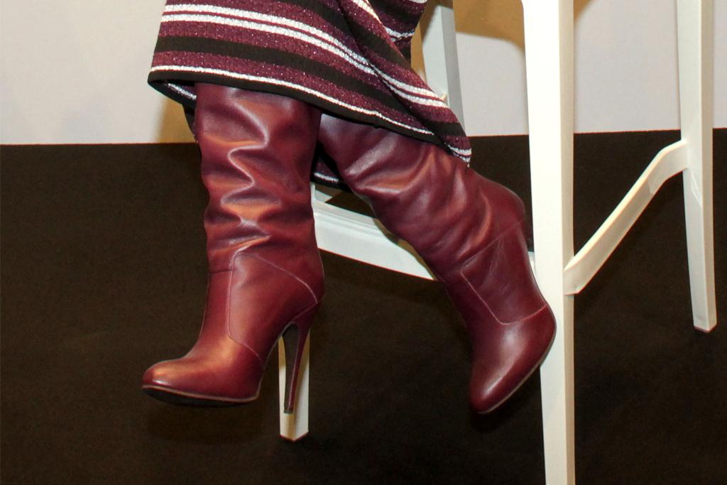 zendaya, tommy hilfiger, tommy x zendaya, fall, red boots