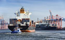 Rio Grande Express containership, Waltershofer Hafen