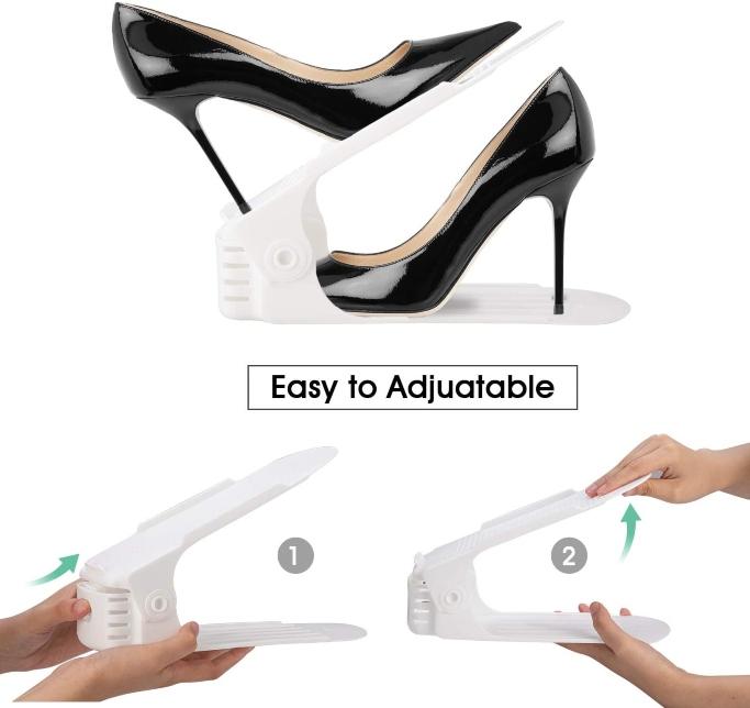 Aquapro Shoe Slots Organizer, shoe space saver