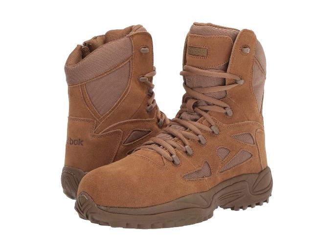 "Reebok Work 8"" Rapid Response RB Boot, best winter boots for men"