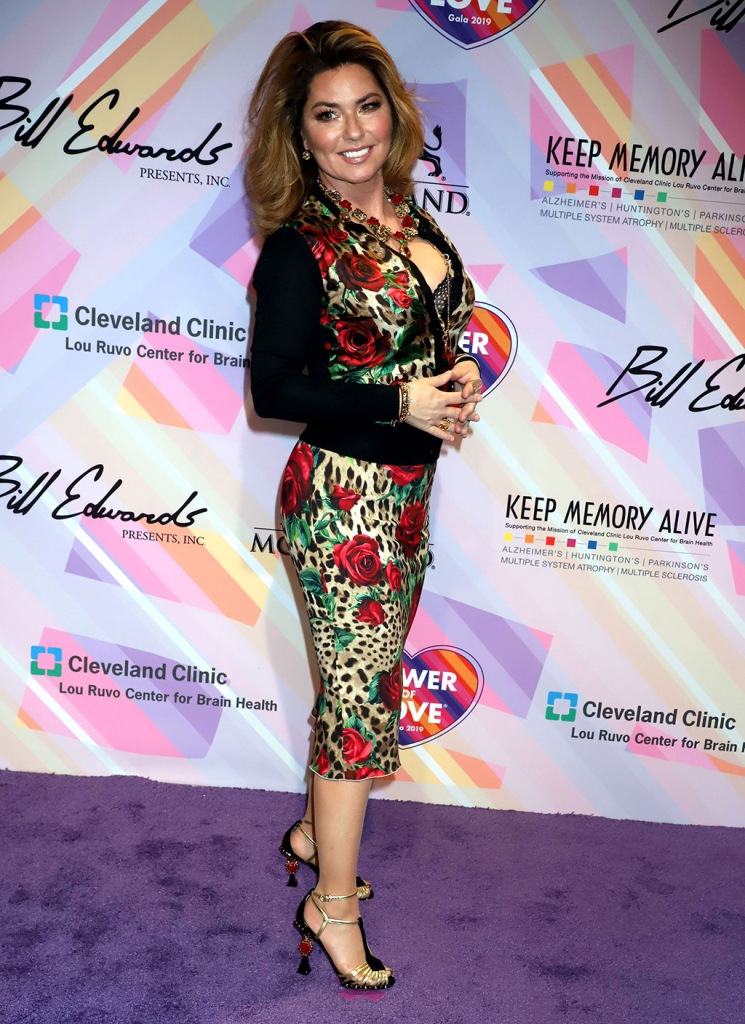 Shania TwainKeep Memory Alive Power Of Love Gala, Las Vegas, USA - 16 Mar 2019 Wearing Dolce & Gabbana