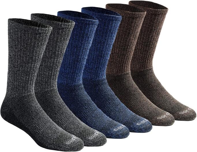 Dickies Dri-Tech Crew Socks, everyday socks for men
