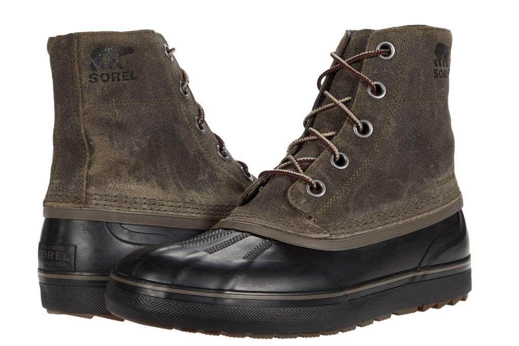 sorel waterproof boot, best winter boots for men