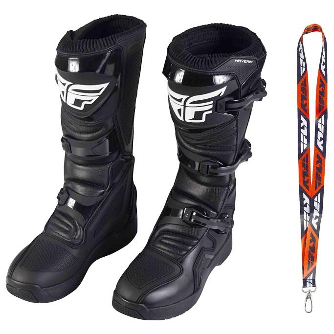 Fly Racing Maverik Adult Motocross Boots, men's motocross boots