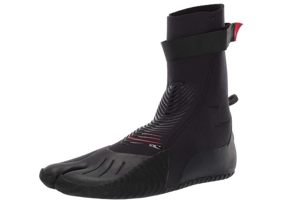 O'Neill Heat 3mm Split Toe Booties, wetsuit booties for men